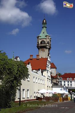Sopot (Zoppot) an der Ostseeküste in Polen, Leuchtturm, Lighthouse, Phare, Foto, foreal, Albers, Zoppot, Sopot, Latarnia Morska,