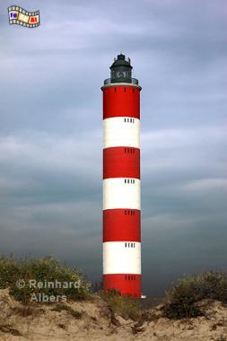 Berck in Nordfrankreich, Frankreich, France, Leuchtturm, Phare, Lighthouse, Berck, Albers, Foto, foreal,