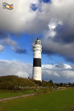 Insel Sylt - Leuchtturm bei Kampen., Leuchtturm, Phare, Lighthouse, Kampen, Sylt, Nordseeküste, Albers, Foto, foreal,