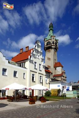 Sopot (Zoppot) an der Ostseeküste in Polen., Leuchtturm, Lighthouse, Phare, Latarnia, Morska, Foto, foreal, Albers, Zoppot, Sopot,