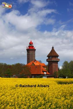 Dahmeshöved an der Ostseeküste in Ostholstein, Leuchtturm, Ostholstein, Lighthouse, Phare, Dahmeshöved, Albers, Foto, foreal,