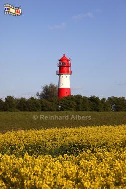 Falshöft in Schleswig-Holstein, Landschaft Angeln, Leuchtturm, Ostseeküste, Lighthouse, Phare, Falshöft, Pommerby, Albers, Foto, foreal,