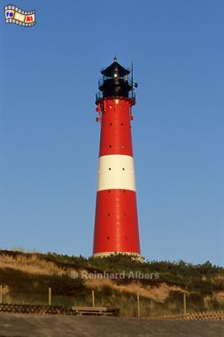 Hörnum - Leuchtturm, Leuchtturm, Lighthouse, Phare, Sylt, Hörnum, Foto, Albers, foreal,