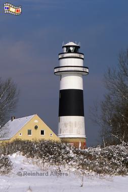 Bülk bei Kiel im Winter., Leuchtturm, Lighthouse, Phare, Kiel, Bülk, foreal, Foto, Albers,