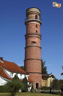 Der Leuchtturm in Travemünde aus dem Jahr 1539 ist der Älteste in Dt., Leuchtturm, Lighthouse, Phare, Travemünde, Ostsee, Lübeck, Bucht, Albers, Foto, foreal,