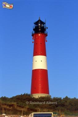 Leuchtturm von Hörnum auf der Insel Sylt., Leuchtturm, Lighthouse, Phare, Sylt, Hörnum, Foto, Albers, foreal,