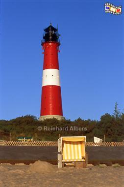Leuchtturm von Hörnum in der Morgensonne., Leuchtturm, Lighthouse, Phare, Sylt, Hörnum, Foto, Albers, foreal,
