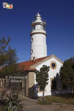 Mallorca - Cap Gros, Spanien, Mallorca, Cap, Gros, Leuchtturm, Phare, Lighthouse, Far, Albers, Foto, foreal,