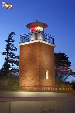 Leuchtturm in Wyk auf Föhr, Leuchtturm, Föhr, Wyk, Nordsee, Albers, Foto, foreal,