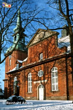 Kappeln - Nikolaikirche, Kappeln, Nikolaikirche, Schlei, Schleswig-Holstein, Albers, Foto, foreal,