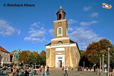 Husum - Marienkirche, Schleswig-Holstein, Nordseeküste, Nordfriesland, Husum, Marienkirche, Albers, Foto, foreal