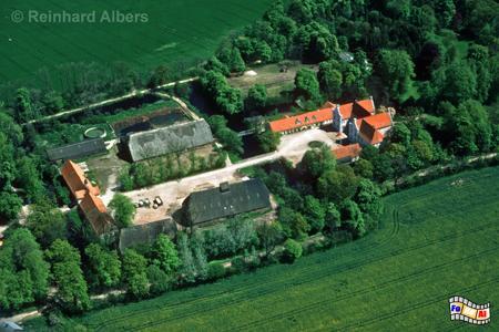 Gut Damp auf der Halbinsel Schwansen, Schleswig-Holstein, Halbinsel, Schwansen, Damp, Gut, Albers, Foto, foreal,