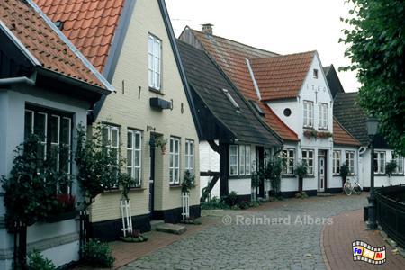 Schleswig - Fischersiedlung Holm, Schleswig-Holstein, Schleswig, Holm, Fischersiedlung, Albers, Foto, foreal,