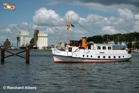 Flensburg - Fördedampfer, Flensburg, Hafen, Förde, Schleswig-Holstein, Albers, Foto, foreal,