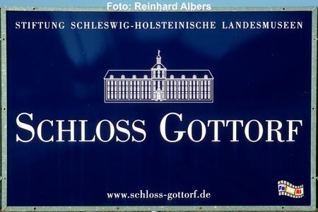 Schleswig Schloss Gottorf, Schleswig-Holstein, Schloss, Gottorf, Schleswig, Albers, Foto, foreal,