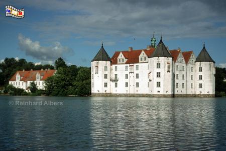 Glücksburg Wasserschloss, Schleswig-Holstein, Glücksburg, Wasserschloss, Albers, Foto, foreal,