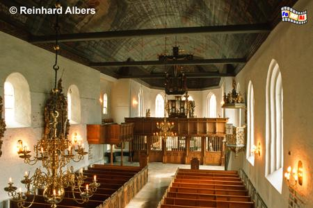 Tönning - St. Laurentiuskirche Innenansicht., Schleswig-Holstein, Tönning, Nordseeküste, Kirche, Laurentius, Albers, Foto, foreal,
