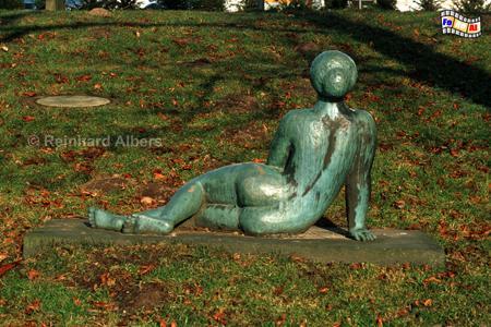 Schleswig Skulptur im Schlosspark, Schleswig-Holstein, Schloss, Gottorf, Schleswig, Albers, Foto, foreal,
