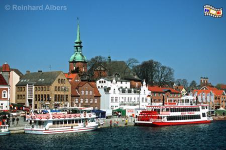 Blick auf Kappeln an der Schlei, Schleswig-Holstein, Kappeln, Schlei, Foto, Albers, foreal,