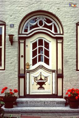 Tönning - Hauseingang, Tönning, Hauseingang, Tür, Albers, Foto, foreal,