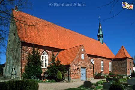 Gelting Kirche, Schleswig-Holstein, Gelting, Kirche, Angeln, Albers, Foto, foreal,