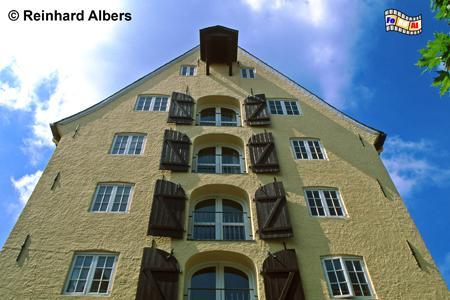 Flensburg - Ehemaliger Speicher, Schleswig-Holstein, Flensburg, Westindienspeicher, Albers, Foto, foreal,