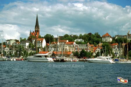 Flensburg - Stadtteil St. Jürgen, Flensburg, Hafen, Förde, Schleswig-Holstein, Albers, Foto, foreal,