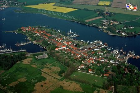 Stadt Bad Arnis - Luftbild,