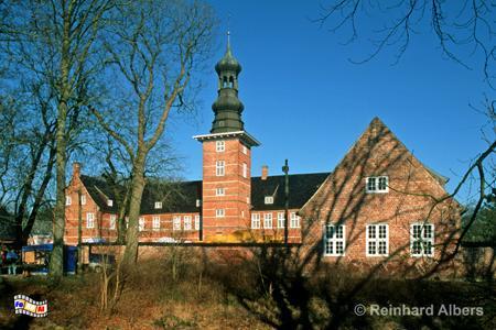 Husumer Schloss, Schleswig-Holstein, Husum, Schloss, Nordfriesland, Albers, Foto, foreal,
