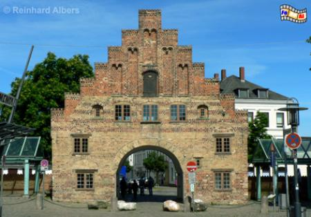 Flensburg - Nordertor, Schleswig-Holstein, Flensburg,l Hafen, Nordertor, Albers, Foto, foreal,