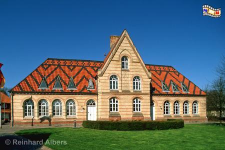 Kappeln - Rathaus, Kappeln, Schlei, Rathaus, Schleswig-Holstein, Foto, foreal, Albers,