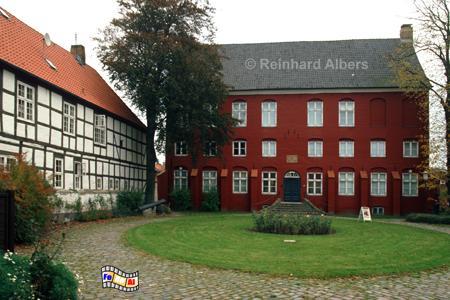 Schleswig - Der Günderothsche Hofkomplex beherbergt heute das Stadtmuseum, Schleswig, Stadtmuseum, Günderothsche, Hof, Albers, foreal, Foto,