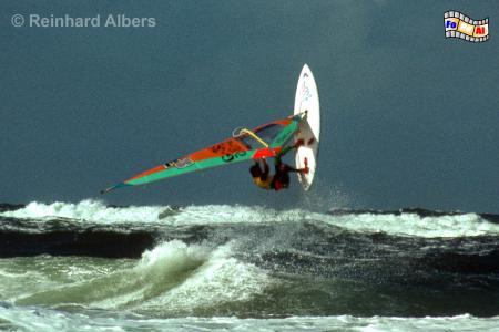Surfer vor Sylt,