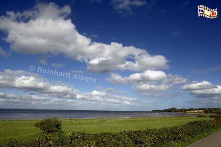 Landschaft an der Flensburger Förde, Schleswig-Holstein, Ostseeküste, Angeln, Förde, Flensburg, Albers, Foto, foreal,