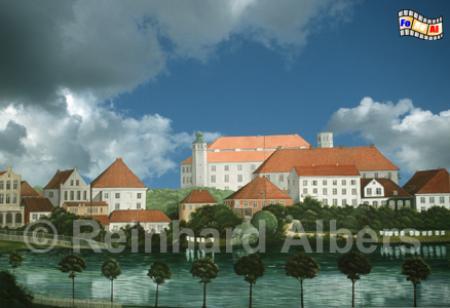 Das Schloss in Kiel in früheren Zeiten., Kiel, Schloss, Albers, Foto, foreal,