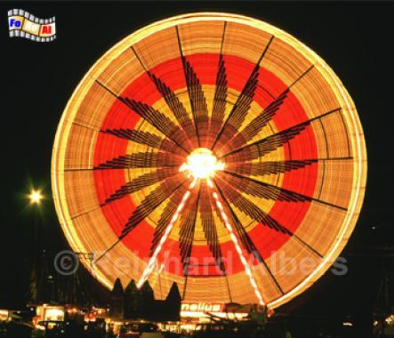 Riesenrad anläßlich der Kieler Woche am Ostseekai, Kiel, Kieler Woche, Riesenrad, Ostseekai