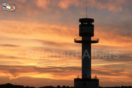 Morgenrot beim Leuchtturm von Kiel-Friedrichsort., Kiel, Friedrichsort, Leuchtturm, Förde, Falkenstein, Albers, Foto, foreal,