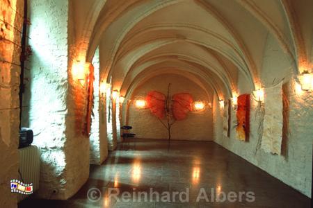 Kiels älteste Mauern im früheren Stadtkloster stammen vermutlich aus dem 13. Jh., Kiel, Stadtkloster, Albers. Foto, foreal,