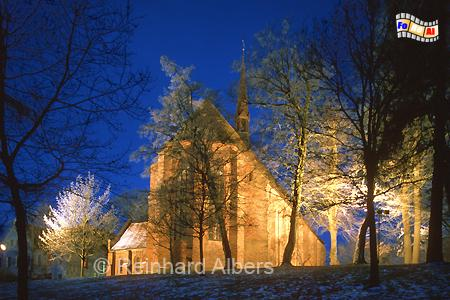 Bordesholm Klosterkirche im Winter, Bordesholm, Kloster, Klosterkirche, foreal, Albers, Foto,