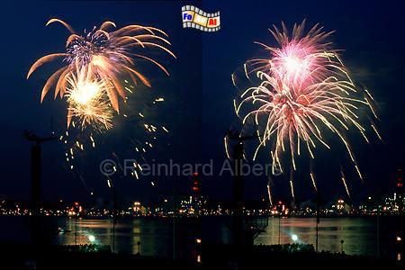 Kieler Woche Feuerwerk, Kiel, Kieler Woche, Feuerwerk