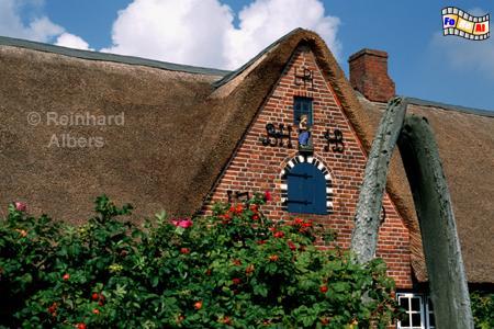 Freilichtmuseum Kiel Molfsee -Walfängerhaus aus Westerland auf der Insel Sylt, 1699, Kiel, Molfsee, Freilichtmuseum, Walfängerhaus, Westerland, Albers, Foto, foreal,
