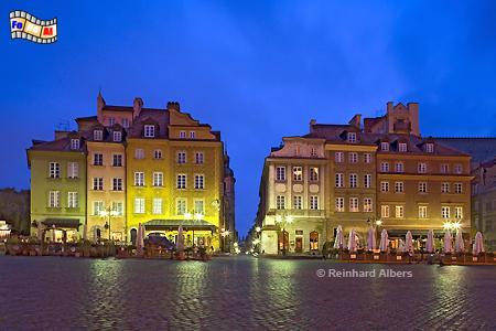 Warschau - Schlossplatz, Warschau, Warszawa, Polen, Polska, Schlossplatz, Plac Zamkowy