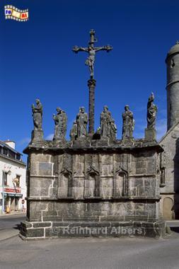 Confort: Calvaire (Kalvarienberg), Bretagne, Calvaire, Kalvarienberg, Confort, Albers, Foto, foreal,