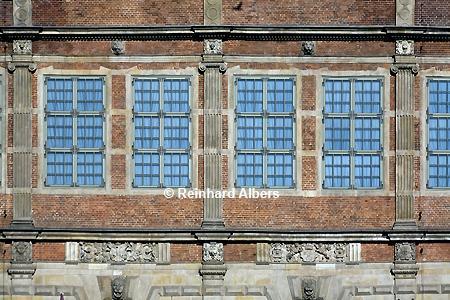 Zielona Brama (Grünes Tor) Fassadenausschnitt., Polen, Danzig, Gdańsk, Grünes Tor, Zielona, Brama, Langer Markt, Albers, Foto, foreal