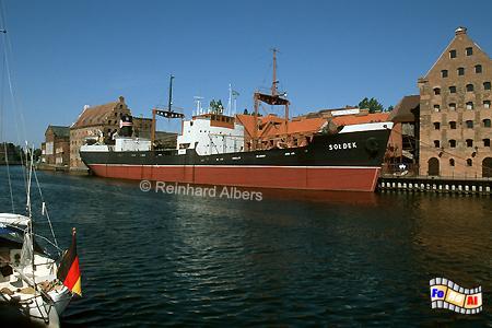 Gdańsk (Danzig) - Museumsschiff