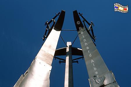 Denkmal für im Dezember 1970 von der Miliz erschossene Werftarbeiter., Polen, Danzig, Gdańsk, Werftarbeiter, Denkmal, Solidarność , Albers, Foto, foreal