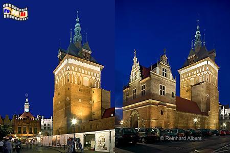 Stockturm und Peinkammer., Polen, Danzig, Gdańsk, Stockturm, Peinkammer, Albers, Foto, foreal