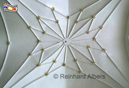 Dwór Artusa (Artushof) - Sternengewölbe in der großen Prachthalle., Polen, Danzig, Gdańsk, Dwór, Artusa, Artushof, Albers, Foto, foreal