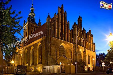 Die Katharinenkirche ist die älteste Kirche in Danzig., Polen, Danzig, Gdańsk, Altstadt, Katharinenkirche, Albers, Foto, foreal