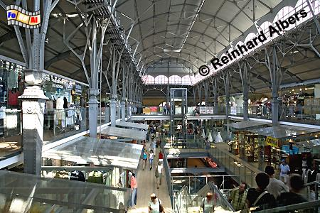 Die zum modernen Einkaufszentrum umgestaltete Markthalle (Hala Targowa)., Polen, Danzig, Gdańsk, Rechtstadt, Dominikanerhalle, Albers, Foto, foreal